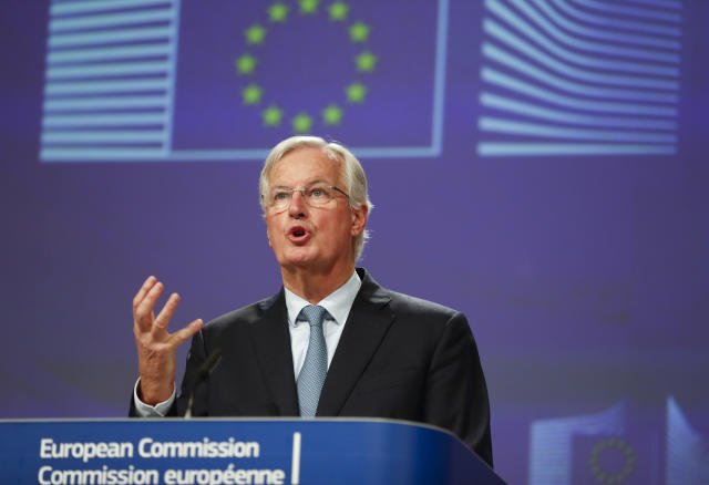 The EU does not believe a trade deal can be struck by the end of 2020 (AP)