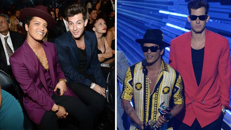 The copyright infringement lawsuit submission claims Bruno's Billboard No.1 copied the band's harmony, rhythm, melody and structure. Photo: Getty