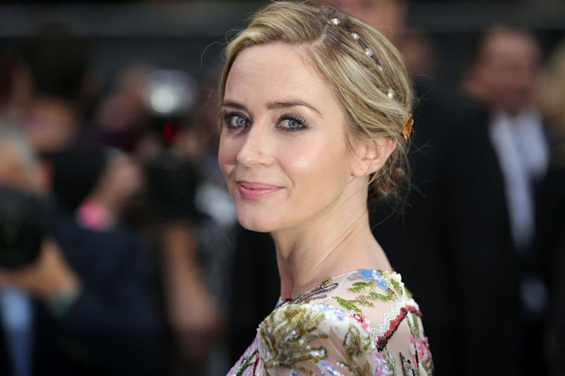 Female takeover: British actress Emily Blunt: Daniel Leal-Olivas/AFP/Getty