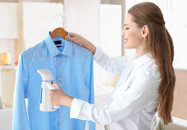 Travel plans ironed out? Great! Just don't forget to bring this portable $24 garment steamer with you. (Photo: Amazon)