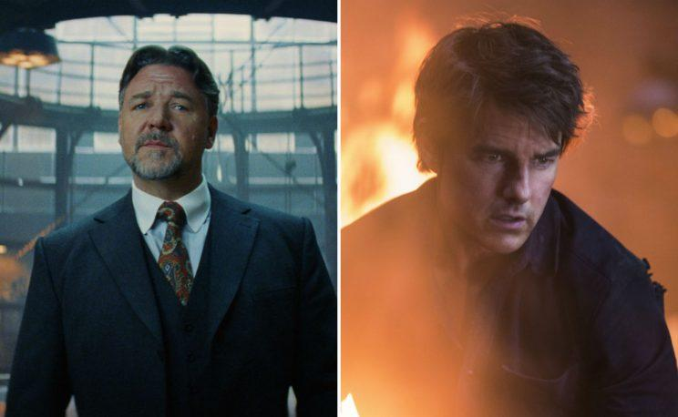 Feud?... Crowe and Cruise reportedly not the best of chums - Credit: Universal