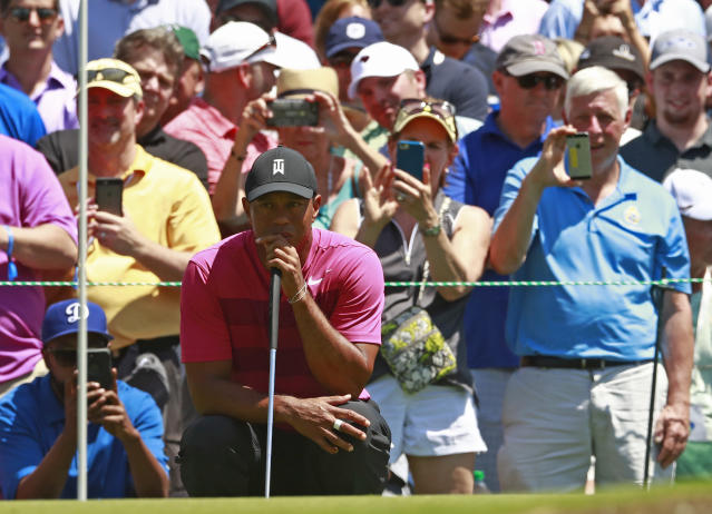 Nobody captures the attention of the public quite like Tiger Woods. (AP)