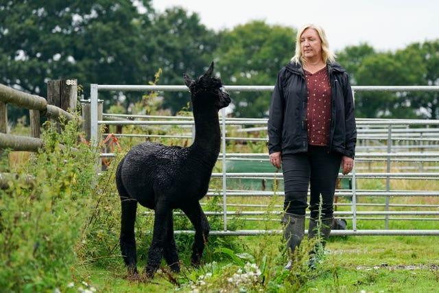 Geronimo's owner Helen Macdonald wants further tests on him to be carried out (Jacob King/PA)