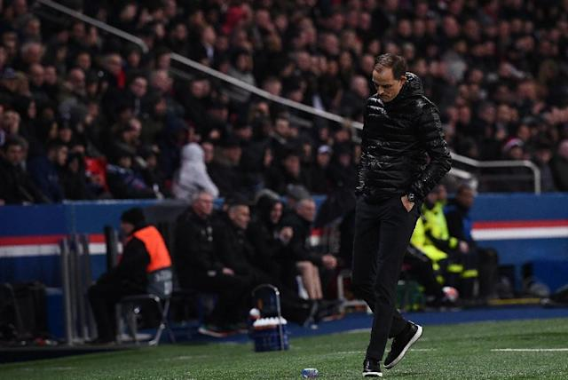 Paris Saint-Germain coach Thomas Tuchel said he remained a supporter of VAR despite the penalty call that dumped his team out of the Champions League on Wednesday (AFP Photo/Anne-Christine POUJOULAT )