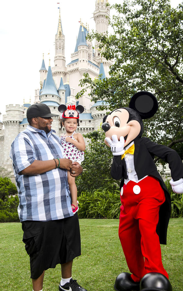 <p>The <i>Saturday Night Live</i> favorite gave his baby girl with wife Christina Evangeline, Georgia, a pretty great gift for her third birthday: a meeting with the one and only Mickey Mouse. Of course, it also came with a day at Walt Disney World. (Photo: Chloe Rice) </p>