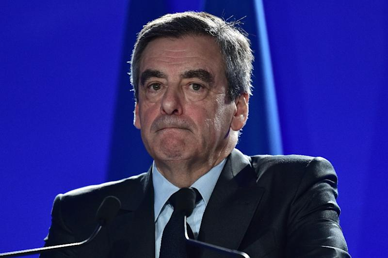 Fillon was charged in March with misuse of public funds (AFP Photo/Christophe ARCHAMBAULT)