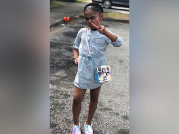 <p>Secoriea Turner, eight years old, who was shot and killed in Atlanta</p> (Atlanta Police Department)