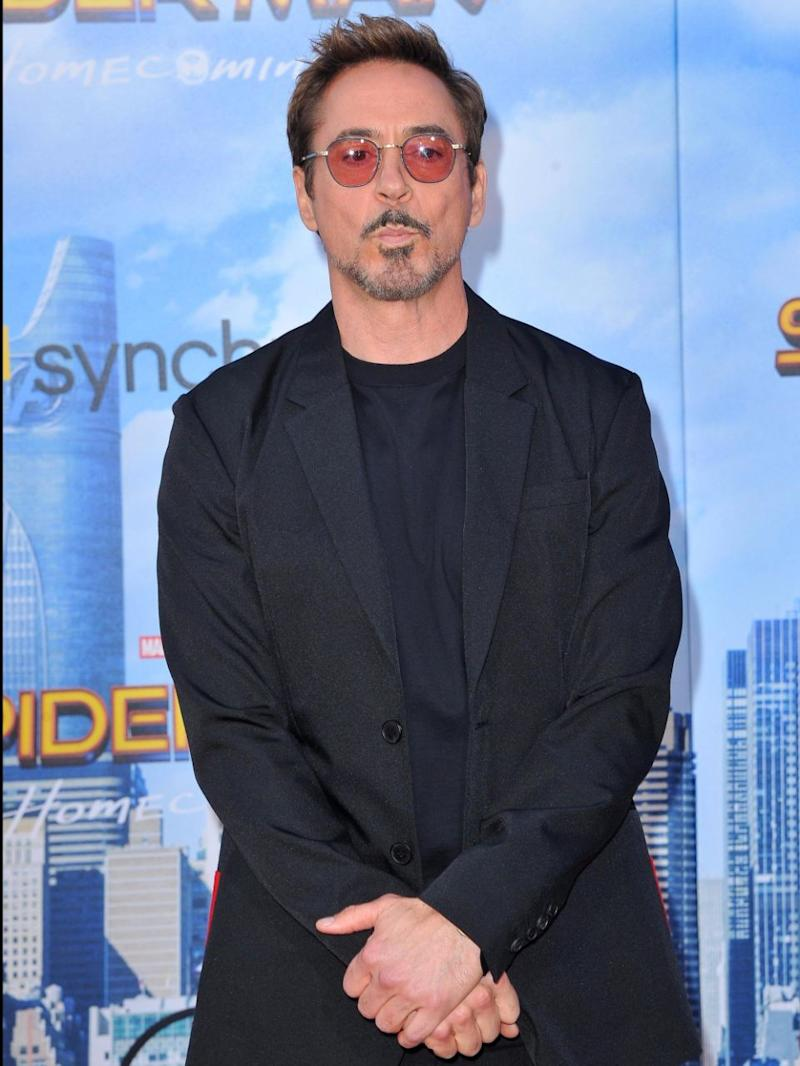 Robert Downey Jnr was less than impressed by Maz's comments. Sorce: Getty
