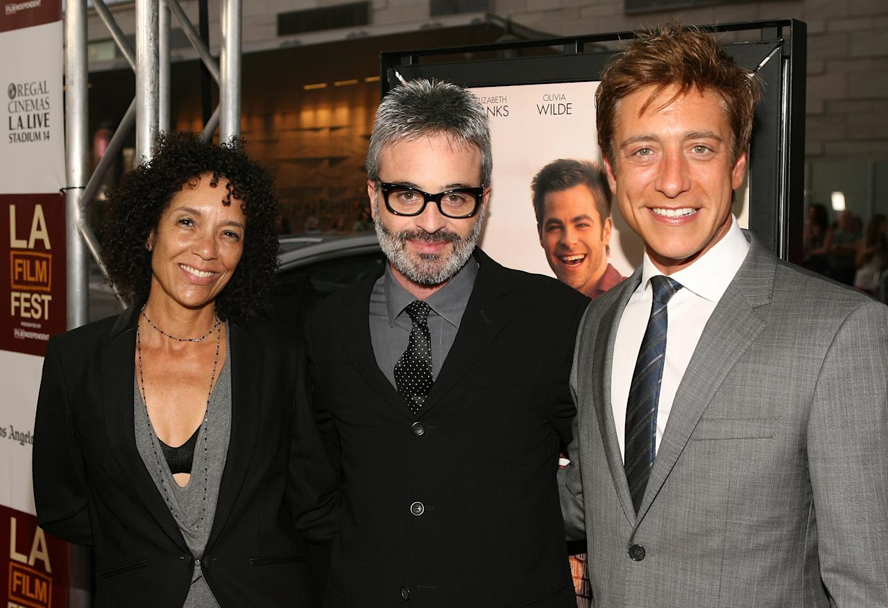LOS ANGELES, CA - JUNE 15:  Director of the Los Angeles Film Festival Stephanie Allain, director Alex Kurtzman and Co-President of  Film Independent Sean McManus attends the 2012 Los Angeles Film Festival Premiere of 'People Like Us' at Regal Cinemas L.A. LIVE Stadium 14 on June 15, 2012 in Los Angeles, California.  (Photo by Jesse Grant/Getty Images)