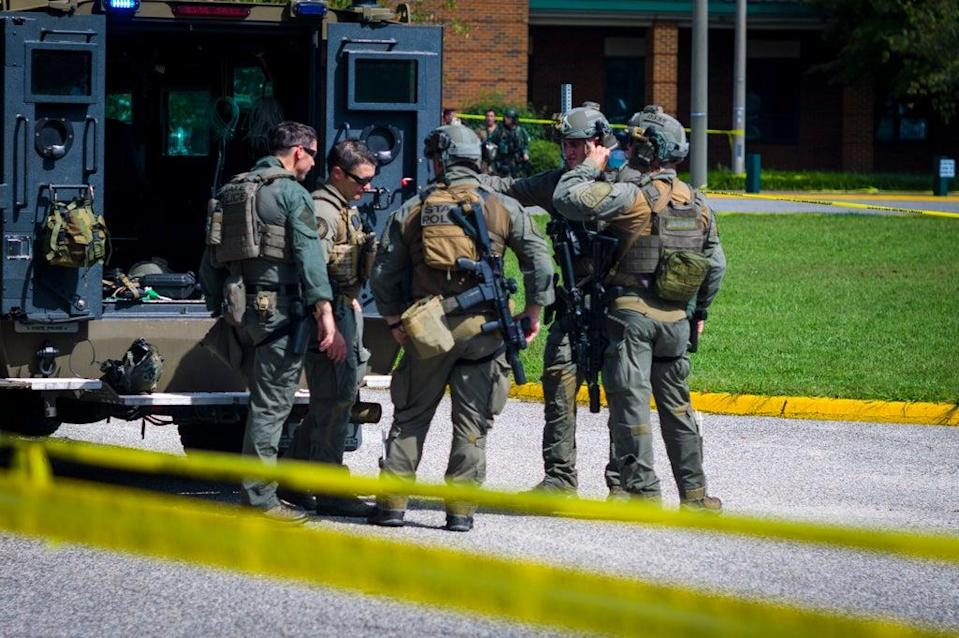 High School Shooting Virginia (Copyright 2021 The Associated Press. All rights reserved.)
