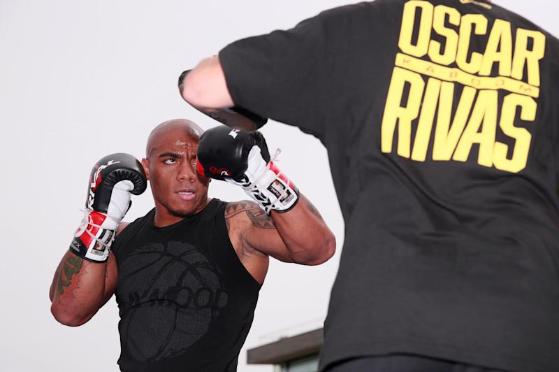 Undefeated Colombian heavyweight Oscar Rivas will hope to upset 'The Body Snatcher' in London (Action Images via Reuters)