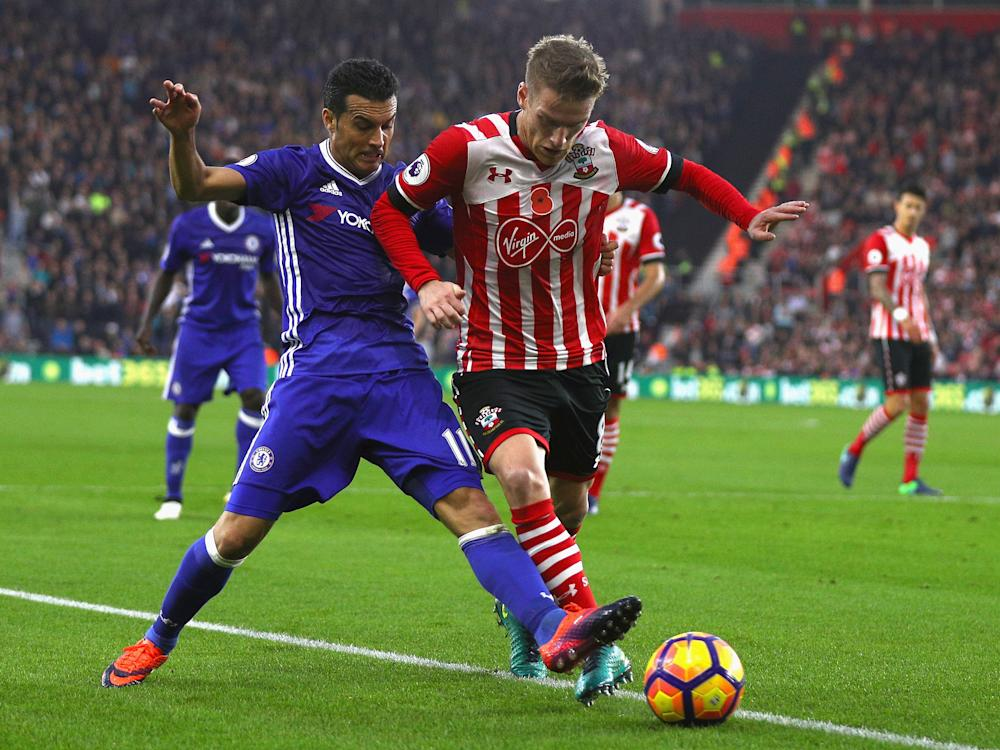 Chelsea beat Southampton 2-0 in the last encounter between the two sides: Getty