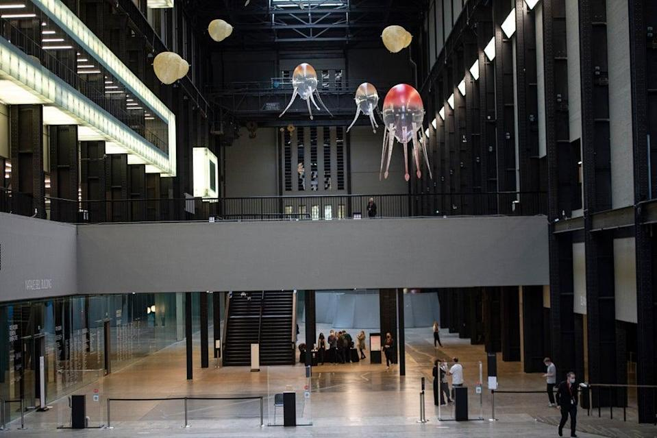 Anicka Yi's creation is open to the public from Tuesday (Daniel Hambury/Stella Pictures Ltd)