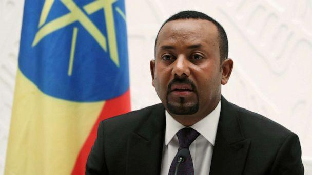 FILE PHOTO: Ethiopian Prime Minister Abiy Ahmed speaks at a news conference at his office in Addis Ababa, Ethiopia, Aug. 1, 2019. (Tiksa Negeri/Reuters)
