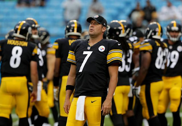 "<a class=""link rapid-noclick-resp"" href=""/nfl/players/6770/"" data-ylk=""slk:Ben Roethlisberger"">Ben Roethlisberger</a> is a near-lock to earn a profit on his ADP. (Photo by Streeter Lecka/Getty Images)"