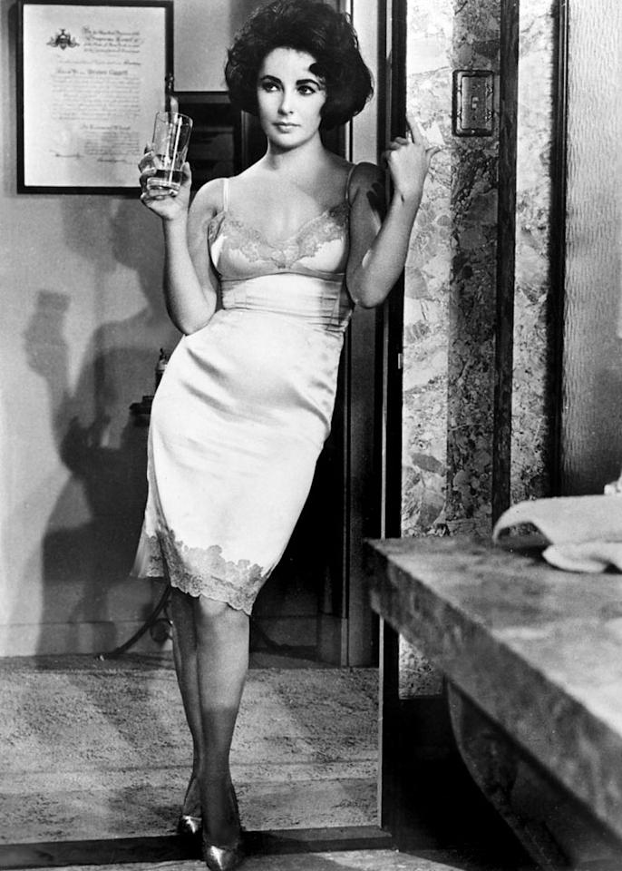 """Elizabeth Taylor, 'BUtterfield 8' (Best Actress, 1960)  Taylor earned four Oscar nominations in four consecutive years from 1957 to 1960, finally winning on her fourth bid for playing man-eating call-girl Gloria Wandrous in Daniel Mann's drama based upon a John O'Hara novel. Promotional posters declared her to be """"the most desirable woman in town and the easiest to find … just call BUtterfield 8."""" Taylor hated the film so much that she threw her shoes at the screen when she saw it, screaming, """"It stinks!"""" (That was Taylor's early description of the scene. In later years she confessed to using profanity.) She was angry that she had to make the movie under contract before MGM would permit her to scoot over to 20th Century Fox to shoot """"Cleopatra."""" She was also upset that she was forced to portray a floozy when, at age 28, she was being widely denounced for stealing Eddie Fisher away from """"America's Sweetheart"""" Debbie Reynolds. She ultimately married Fisher – who portrays her old childhood pal in """"BUtterfield 8"""" – then blatantly cheated on him on the set of """"Cleopatra"""" with the married Richard Burton."""