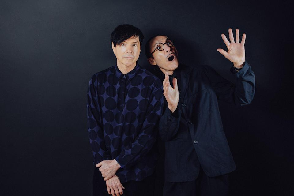 The Sparks Brothers are the subject of a new documentary directed by Edgar Wright (Anna Webber / Focus Features)