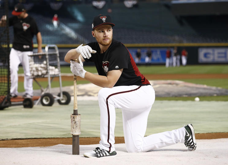 Versatile infielder Brandon Drury was traded to the Yankees in a three-team deal involving the Diamondbacks and Rays. (AP)