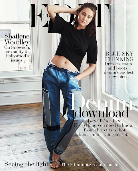 'Snowden' star Shailene Woodley admitted in a new interview that her family is 'super f--ked up,' but that she knows they would do 'anything' for her — read more