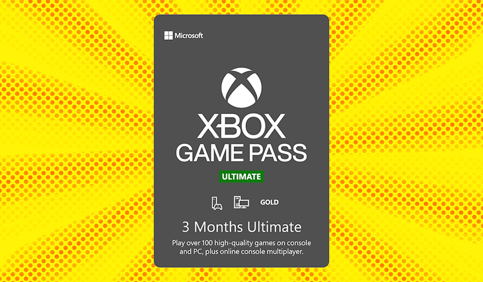 Save 49 percent on Xbox 3 Month Game Pass Ultimate. (Photo: Walmart)