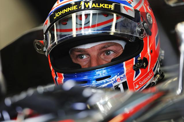 MONTREAL, CANADA - JUNE 08: Jenson Button of Great Britain and McLaren prepares to drive during practice for the Canadian Formula One Grand Prix at the Circuit Gilles Villeneuve on June 8, 2012 in Montreal, Canada. (Photo by Mark Thompson/Getty Images)