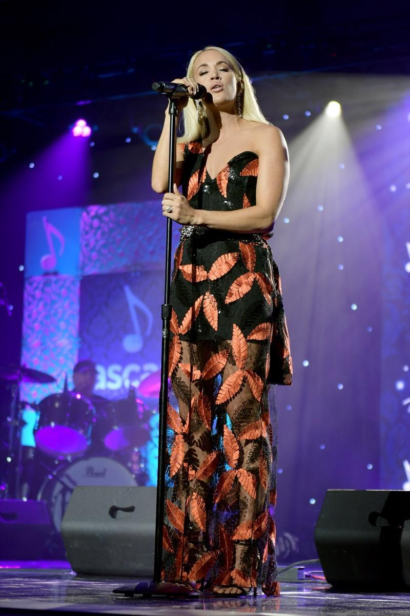 NASHVILLE, TENNESSEE - NOVEMBER 11: Carrie Underwood performs onstage during the 57th Annual ASCAP Country Music Awards on November 11, 2019 in Nashville, Tennessee. (Photo by Jason Kempin/Getty Images)