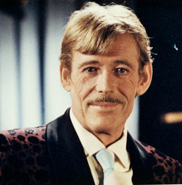 """In this 1983 file photo, Actor Peter O'Toole is shown from the movie """"My Favorite Year."""" O'Toole, the charismatic actor who achieved instant stardom as Lawrence of Arabia and was nominated eight times for an Academy Award, has died. He was 81. O'Toole's agent Steve Kenis says the actor died Saturday, Dec. 14, 2013 at a hospital following a long illness. (AP Photo/File)"""