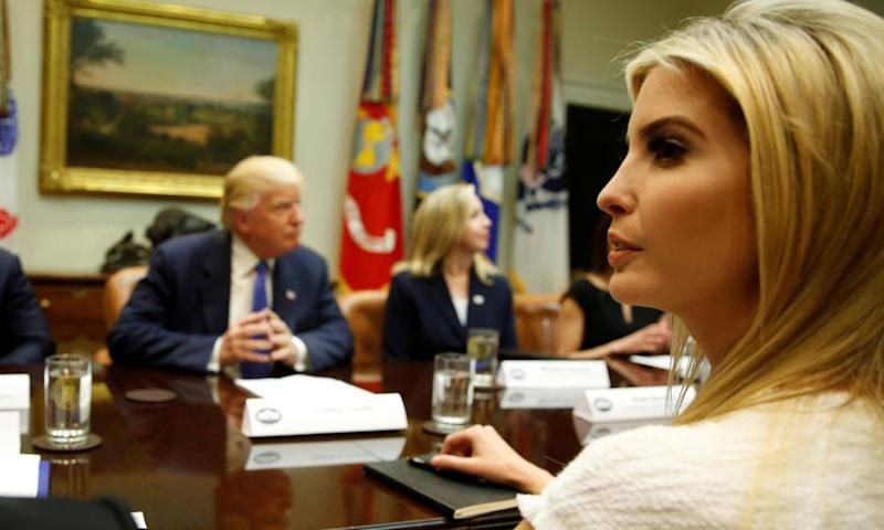 Ivanka's presence at high-level meetings has become almost expected.
