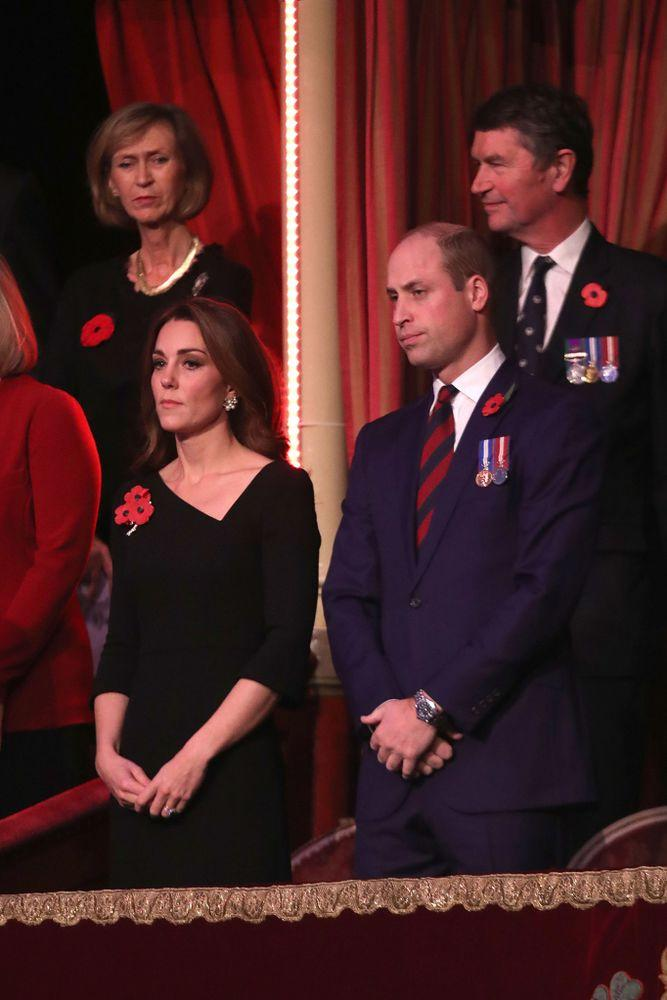 Kate Middleton and Prince William at the Festival of Remembrance
