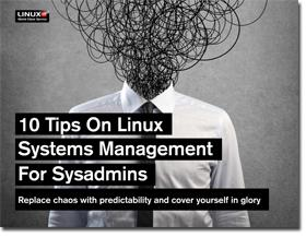 Ten Tips on Linux Systems Management for SysAdmins [Slideshare] image Ten tips on Linux systems management for SysAdmins