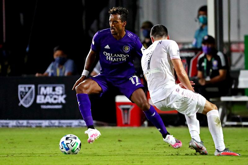 Nani (17) is one of the favorites to win MLS is Back Tournament MVP.