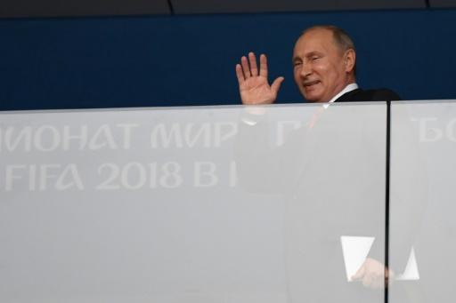 President Vladimir Putin said the World Cup helped shatter Western media sterotypes about Russia