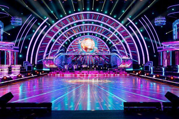 The Strictly Come Dancing ballroom (Photo: Guy Levy/BBC)