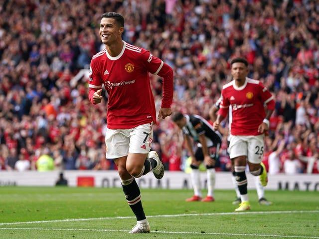 Cristiano Ronaldo has returned to Manchester United with a bang