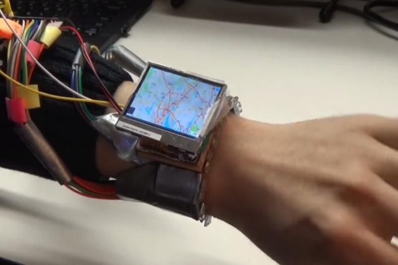 Future smartwatches could be operated by using your wrist as a joystick