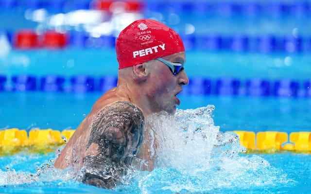 Adam Peaty is overwhelming favourite to retain his Olympic title (Adam Davy/PA)