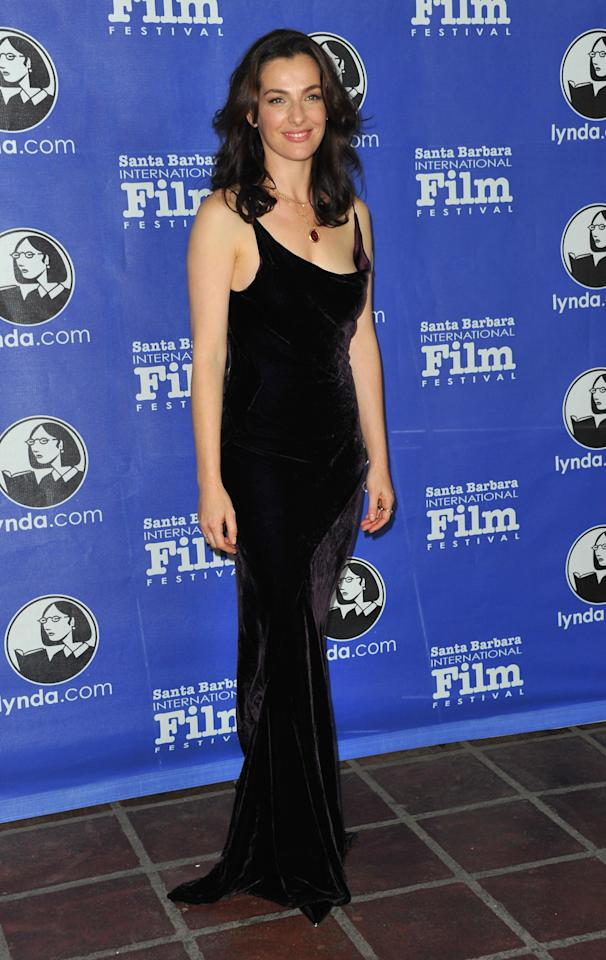 "SANTA BARBARA, CA - JANUARY 26:  Actress Ayelet Zurer arrives to the Santa Barbara International Film Festival's opening night premiere of Sony Pictures Classics' ""Darling Companion""  at Arlington Theatre on January 26, 2012 in Santa Barbara, California.  (Photo by Alberto E. Rodriguez/Getty Images)"