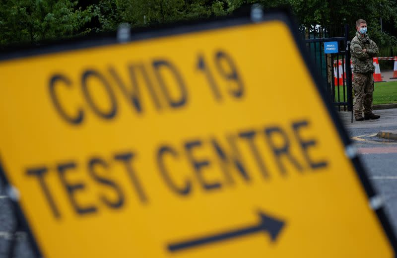 Britain ramps up trials of 20 minute COVID-19 tests