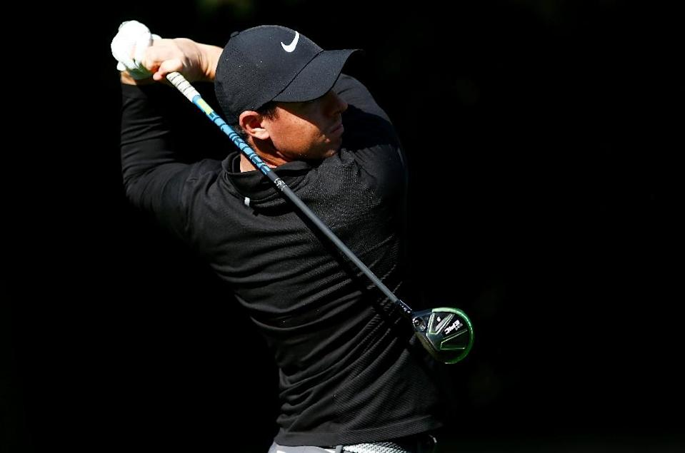Rory McIlroy of Northern Ireland practices for the WGC-Mexico Championship, in Mexico City, on February 28, 2017 (AFP Photo/Jamie Squire)
