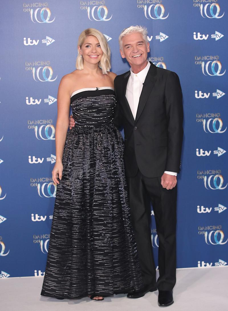 Holly Willoughby and Phillip Schofield (Photo: Mike Marsland via Getty Images)
