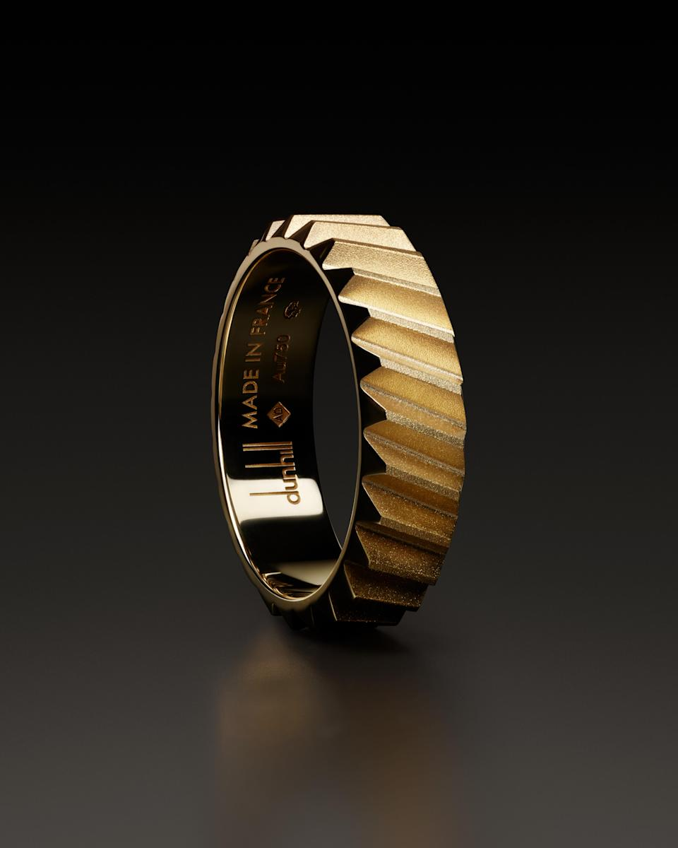 The new Dunhill Transmission ring. - Credit: Image Courtesy of Dunhill