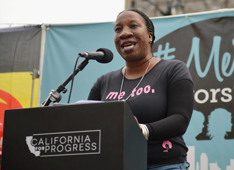 #MeToo creator Tarana Burke will kick off the New Year's Eve ball drop in Times Square