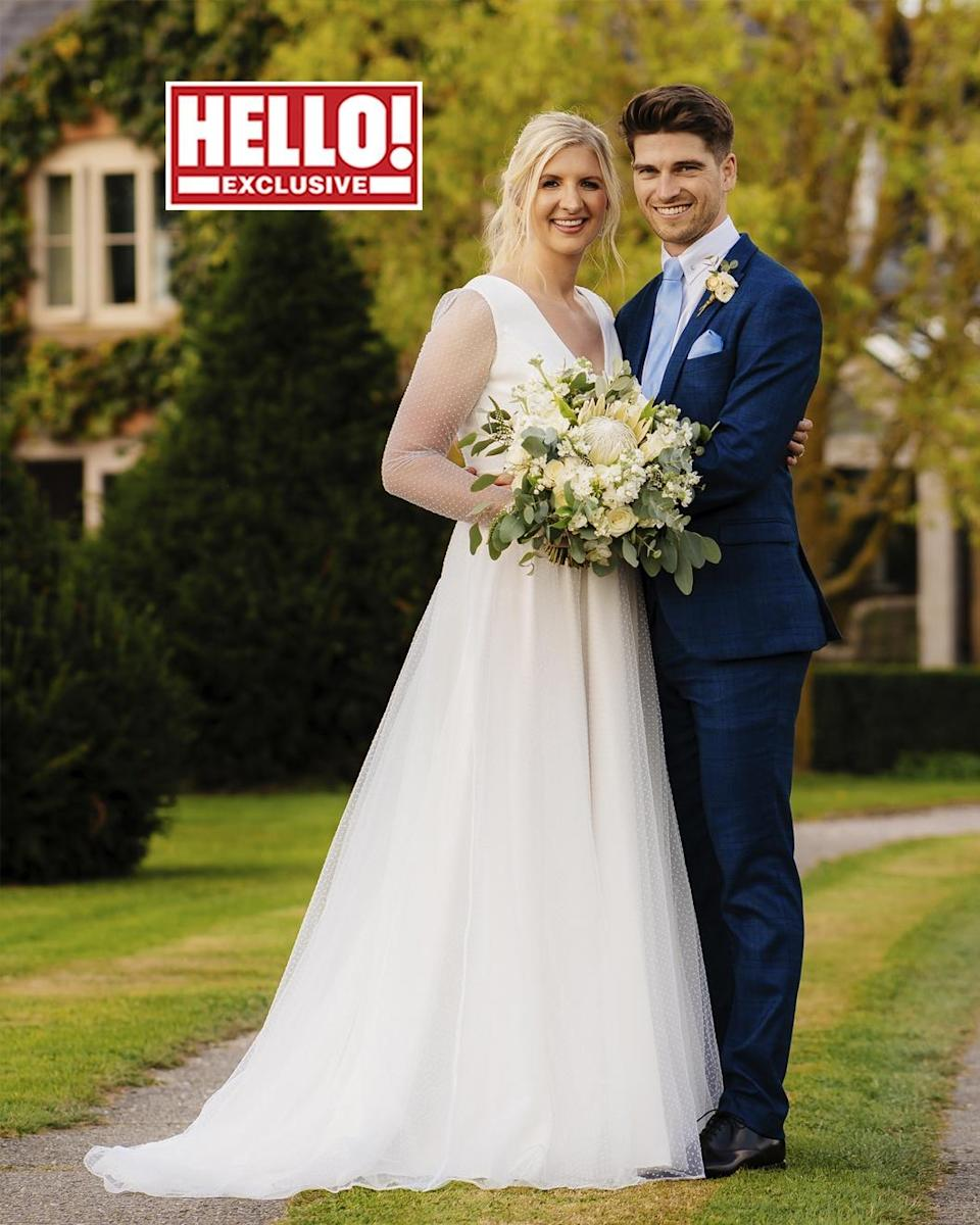 Rebecca Adlington and Andy Parsons