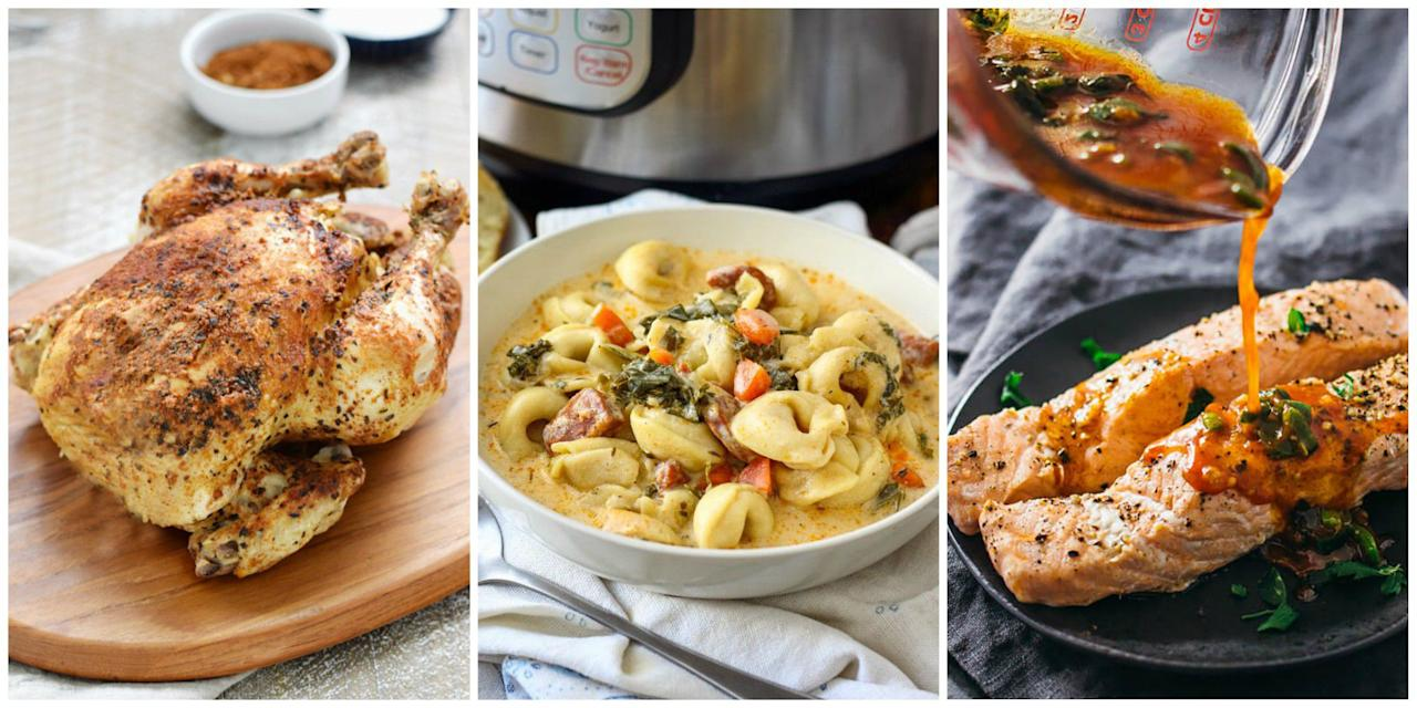 <p>These delicious dinners offer *instant* gratification.</p>