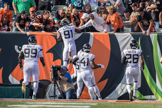 Jaguars 27, Bengals 17: 5 Observations From Jacksonville's Road Win