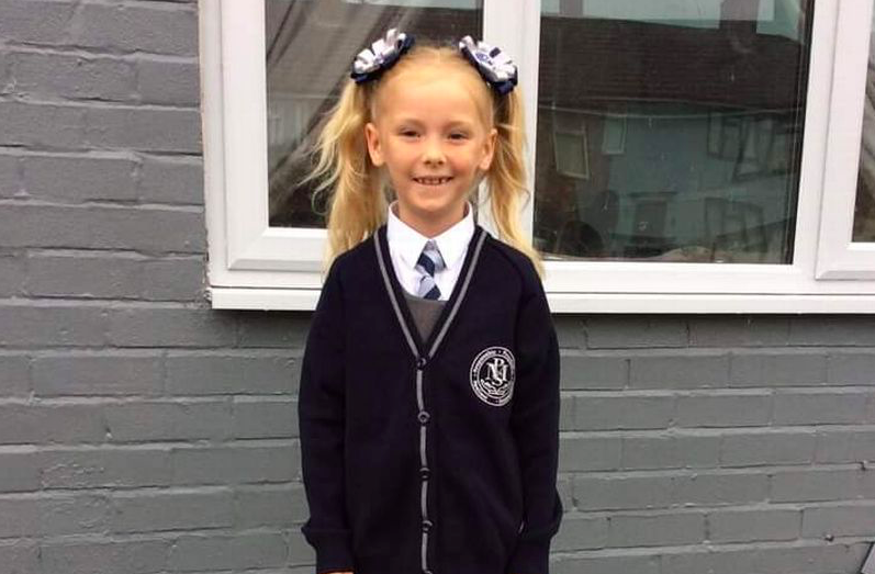 Alexa-Leigh Blakemore suffered serious head injuries including a fractured skull and bleeding on the brain. (Reach)