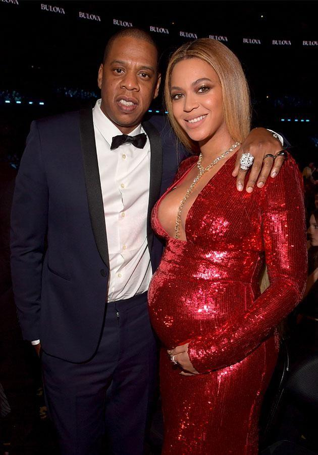 Bey and Jay-Z danced the night away at Interscope's party. Photo: Getty Images