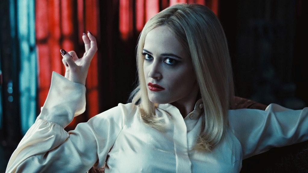 """<b>Angelique Bouchard</b><br> French actress Eva Green <a href=""""http://movies.yahoo.com/video/ymovies-6393699/dark-shadows-insider-access-29268043.html"""">told Yahoo! Movies</a> she studied Bette Davis to delve deeper into her witchy role in """"Dark Shadows,"""" in theaters now. She said she also got inspired by the """"raw, animal music"""" of Janis Joplin, also confessing """"I had to work <em>a lot</em> on my American accent. That was really really hard."""" In the film, Green plays a jealous witch named Angelique who holds a hundreds-year-old grudge against the vampire Barnabas, played by Johnny Depp. She, by the way, is the one who turns Barnabas into a vampire in the first place."""