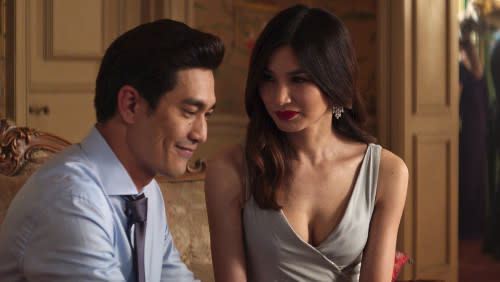 Png plays the role of Michael Teo to Gemma Chan's Astrid in 'Crazy Rich Asians'