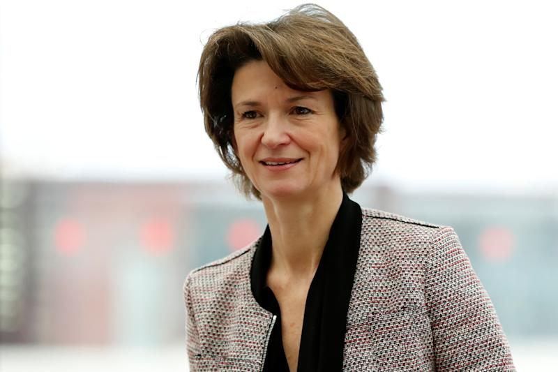 Isabelle Kocher, Chief Executive Officer of Engie, attends a news conference in Paris, France January 15, 2018. REUTERS/Gonzalo Fuentes